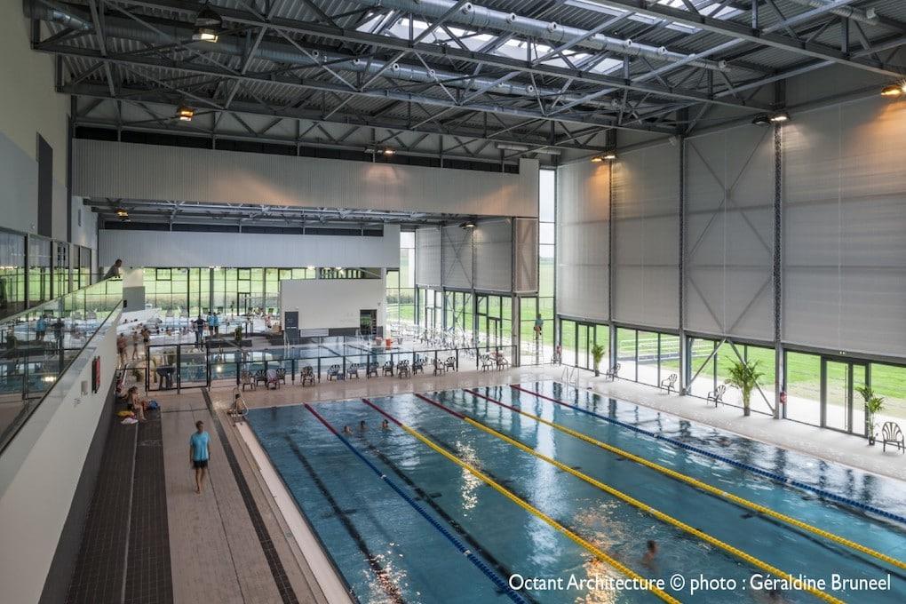 Construction dun centre aquatique à Fagnières 51 3