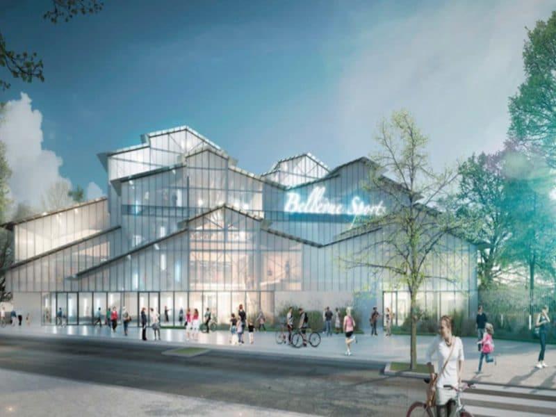 Construction dun complexe sportif et réaménagement du parc des sports à Romainville 1