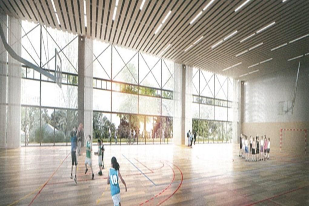 Construction dun complexe sportif et réaménagement du parc des sports à Romainville 3
