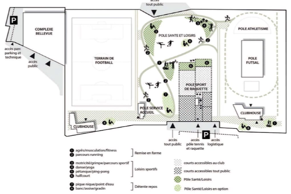 Construction dun complexe sportif et réaménagement du parc des sports à Romainville 4