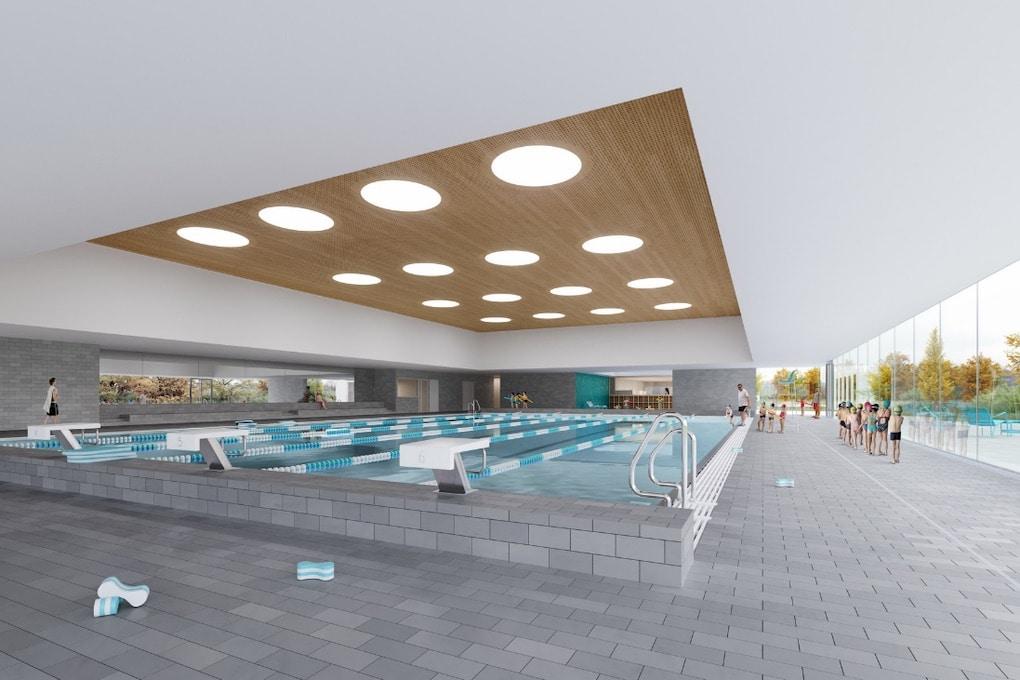 Construction dune piscine à Moirans 38 1