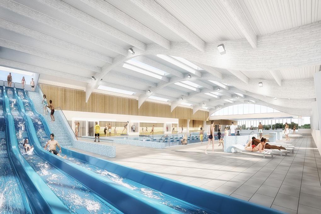 Réhabilitation de la piscine Archipel de Petit Couronne 76 3
