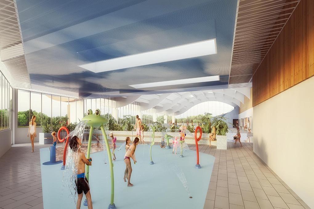 Réhabilitation de la piscine Archipel de Petit Couronne 76 4