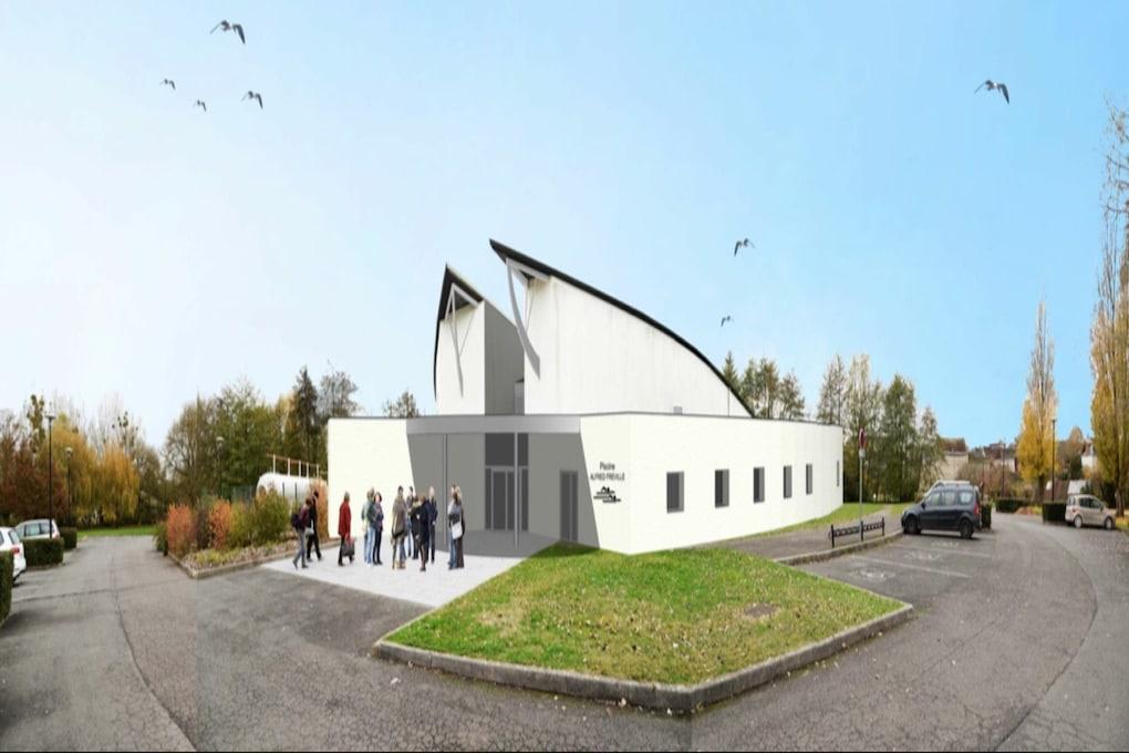 Réhabilitation et extension de la piscine intercommunale de Châtillon sur Indre 36 1