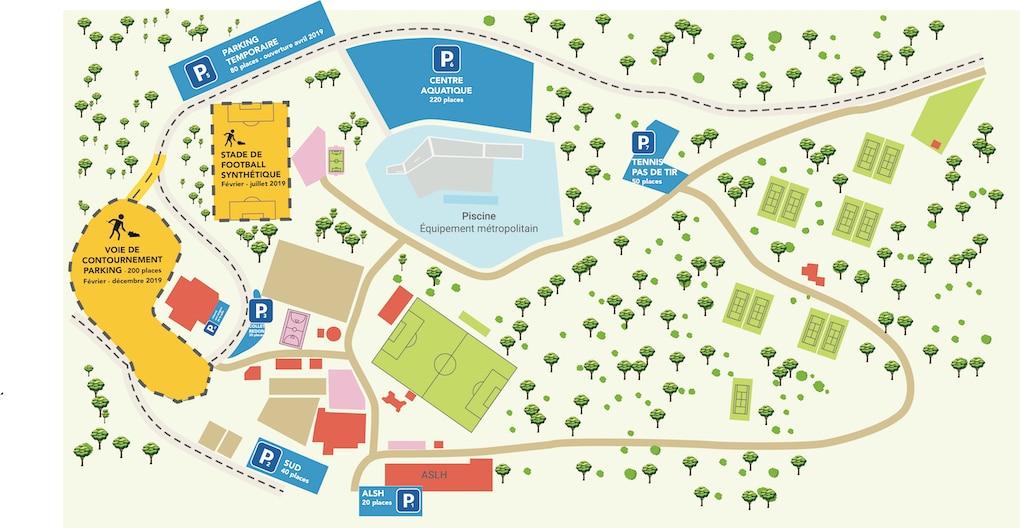 plan parc sports 19